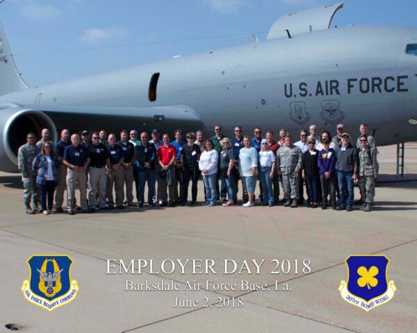 307th Bomb Wing Barksdale Air Force Base Employer Day June 2018 St. Joseph Hospice