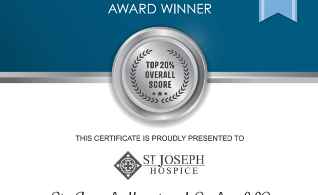 "St. Joseph Hospice of CENLA Receives ""Best Superior Performer"" Award"