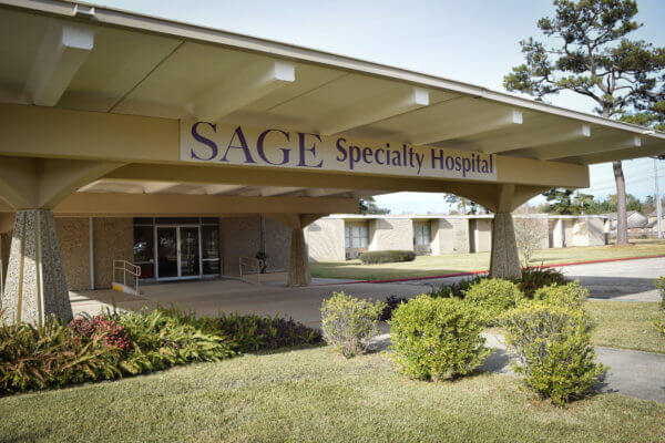 Photo of Sage Specialty Hospital Front Entrance