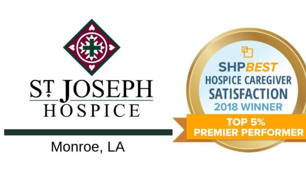 St. Joseph Hospice Receives 2018 Premier Performer Award for Caregiver Satisfaction