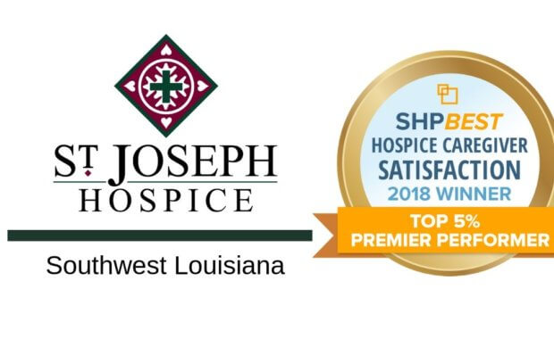 St. Joseph Hospice of Southwest Louisiana Named Top 5% in SHP National Caregiver Satisfaction Survey