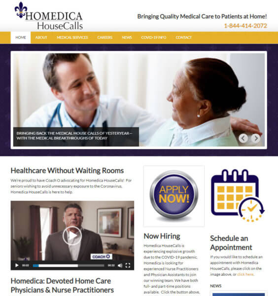 myHomedica.com website